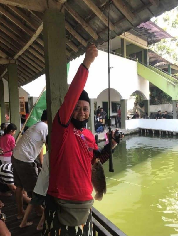 Lomba Mancing untuk meriahkan peringatan HSN PCNU Kota Kediri