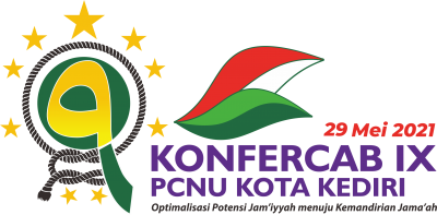 Logo Resmi Konfercab IX PCNU Kota Kediri Tahun 2021